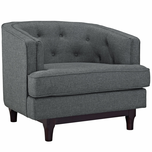 Modern Sofa Chair Button Tufted Armchair Shop Factory