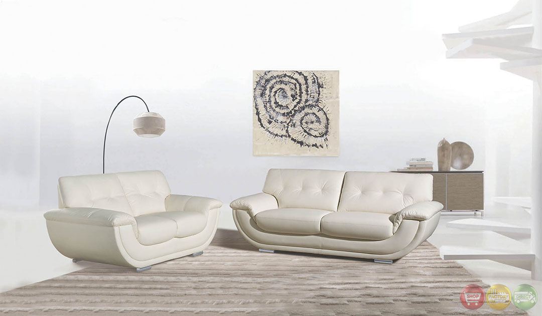 Connor ultra modern living room sets with sinious spring for Ultra modern living room furniture