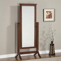 Contemporary Merlot Cheval Mirror Strong Details 383 773