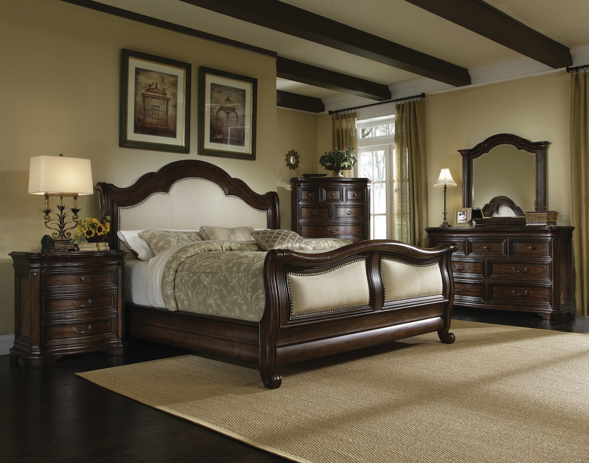 Coronado colonial spanish style bedroom furniture set 172000 for Bedroom furniture set