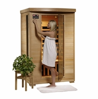Coronado Hemlock 2 Person 6 Carbon Heaters FAR Infrared Sauna Heat Wave SA2409