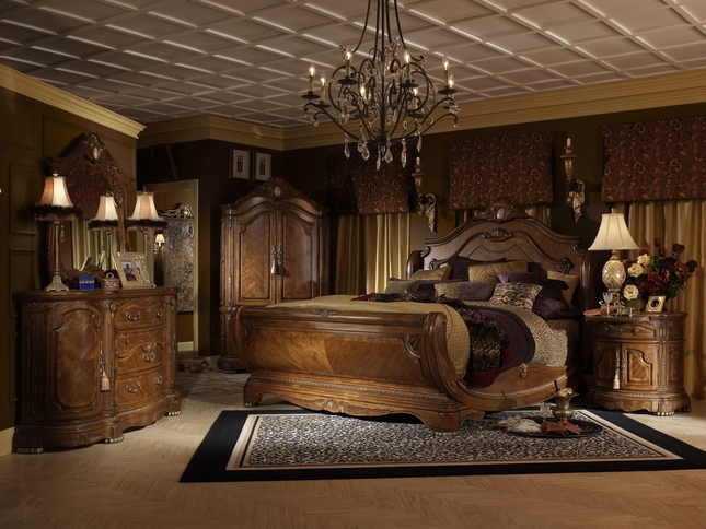 Ordinaire Michael Amini Cortina Luxury Bedroom Furniture Set By AICO