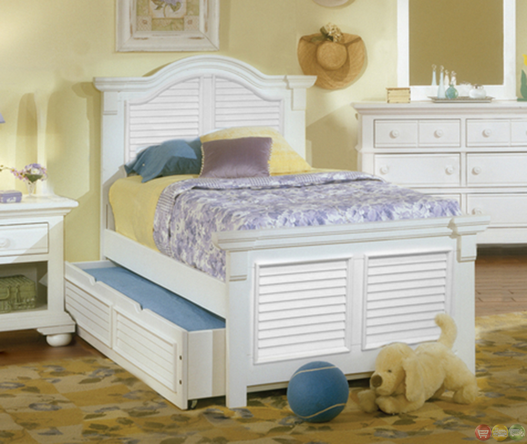Cottage traditional white twin bedroom furniture set free - Traditional white bedroom furniture ...