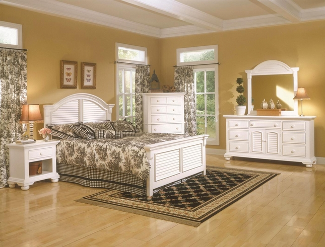 Distressed White Bedroom Furniture | Distressed Cottage ...