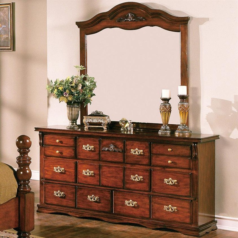 Coventry Solid Pine Rustic Style Bedroom Furniture Set