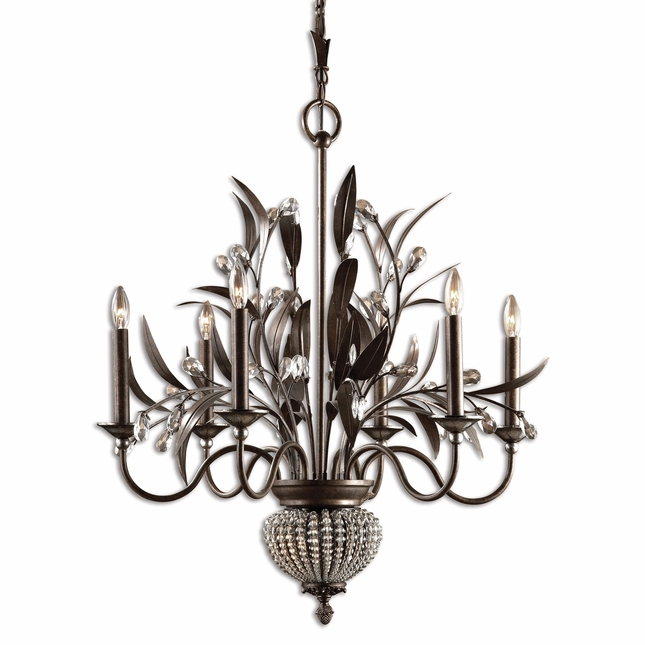 Cristal De Lisbon Traditional 8 Light Chandelier 21017