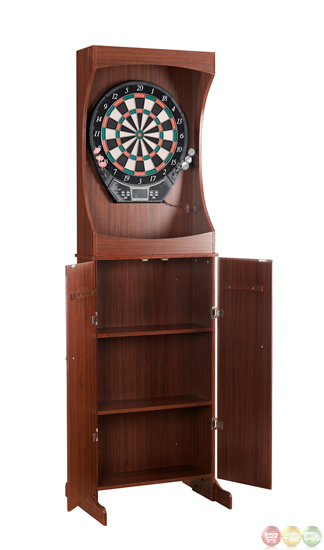 Darts Outlaw Free Standing Dart Cabinet Set
