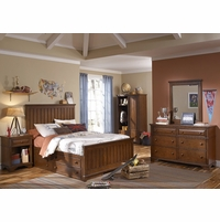 Dawsons Ridge Country Panel Full Youth Bed