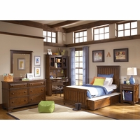 Dawsons Ridge Country Panel Twin Youth Bed