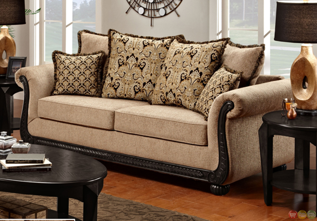 Chenille Sofa And Loveseat Taupe Love Seat Shop Factory Direct