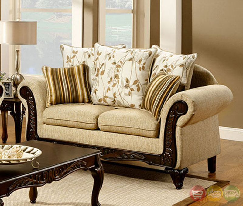 Living Room Made Of Sand: Doncaster Traditional Desert Sand Living Room Set With
