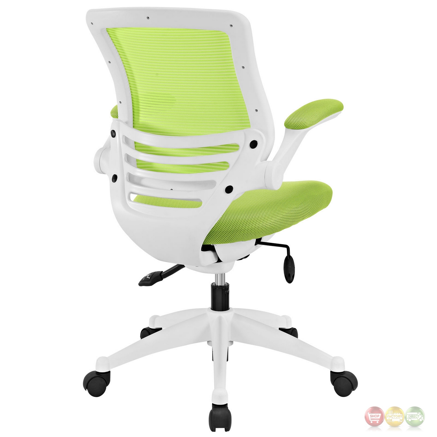 spaceflex office chair green office chairs lime green viper