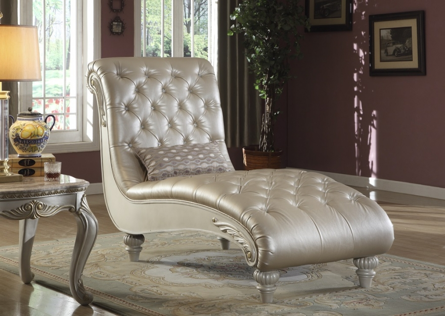 appealing formal elegant sofa living room | Elegant Metallic Pearl Button Tufted Leather Formal Living ...