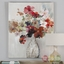 """Elegantly Chic Handpainted Cut Flower Bouquet Art On Stretched Canvas, 40""""x50"""""""