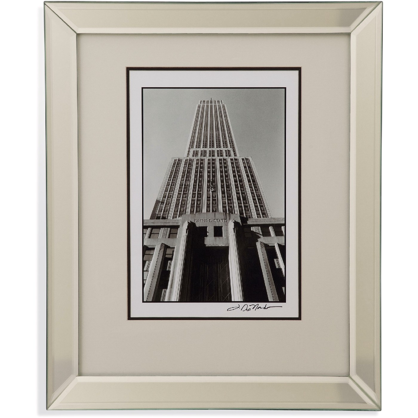 Empire State Building I Architectural Framed Art 9900 154aec