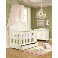 Enchantment Off White Grow With Me Convertible Crib