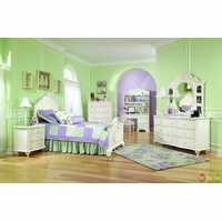 Enchantment Romantic Victorian Twin Panel Youth Bed