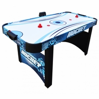 Carmelli Enforcer 5.5-ft Air Hockey Table with Electronic Scoring in Tournament Blue