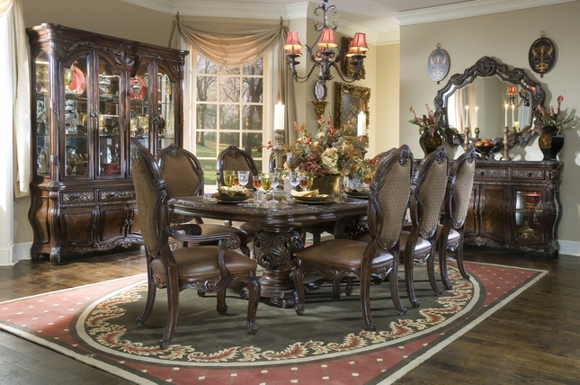 Superb Michael Amini Essex Manor Formal Dining Room Set Deep Unemploymentrelief Wooden Chair Designs For Living Room Unemploymentrelieforg