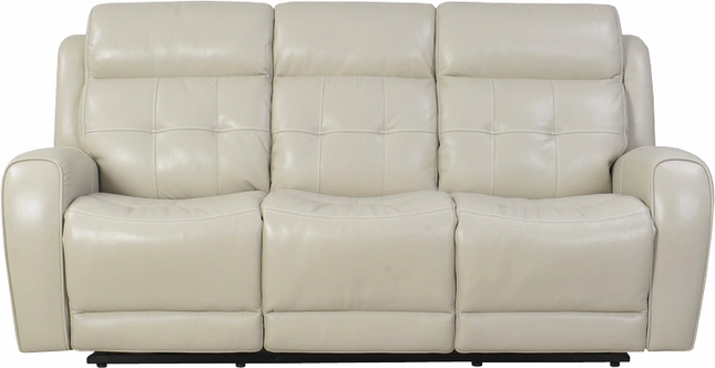 Everest Cloud Dual Reclining Leather Sofa W Headrest And Usb Charging Port