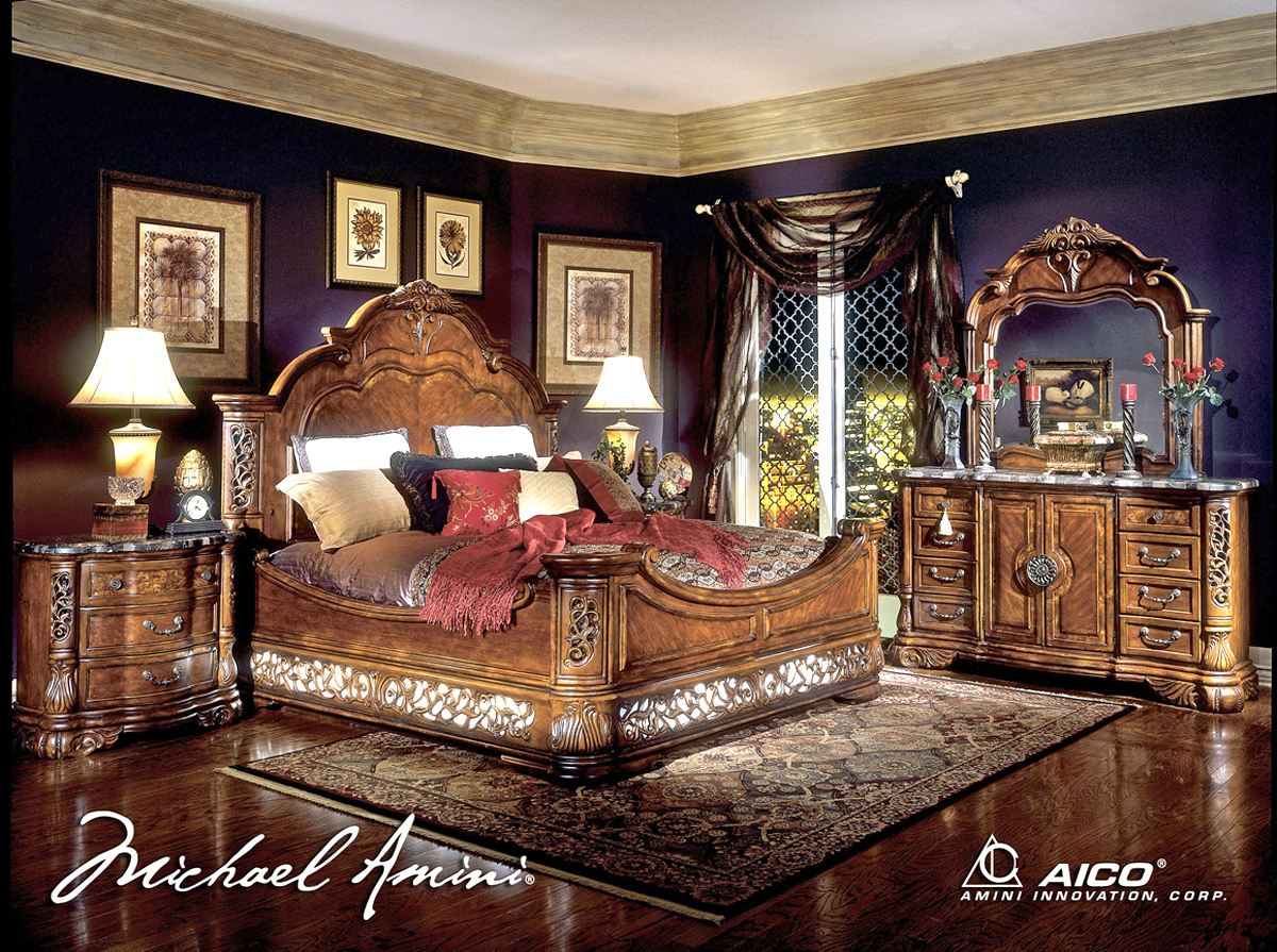 michael amini excelsior bedroom furniture collection