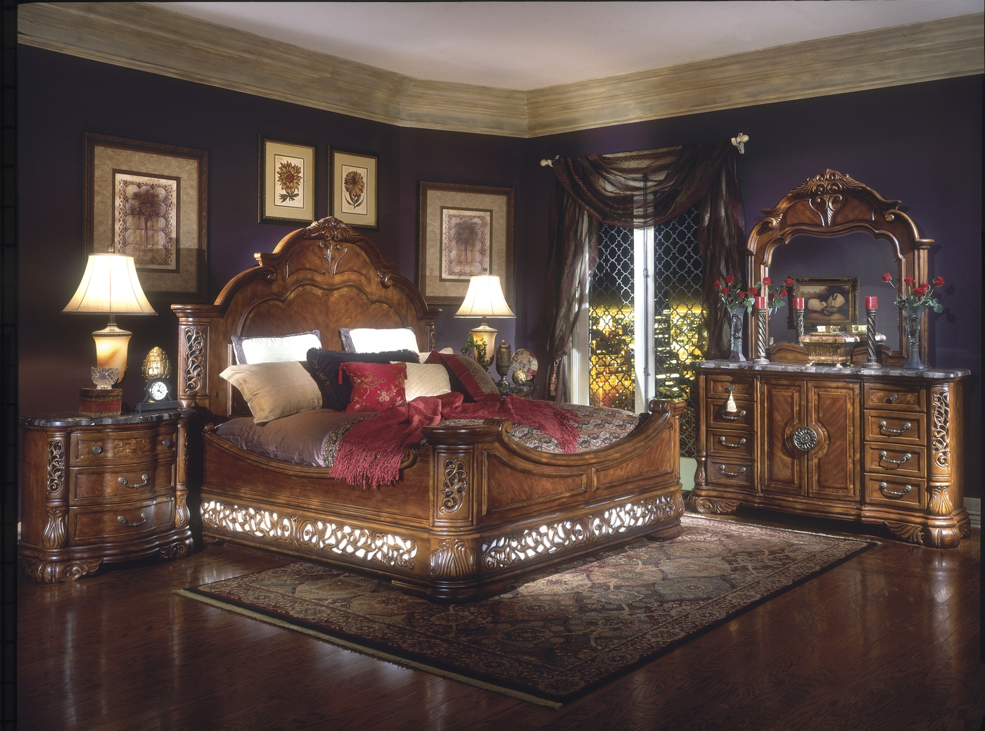 Michael Amini Bedroom Furniture Excelsior Bedroom Furniture