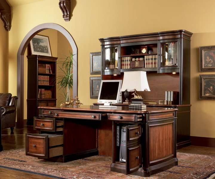 executive five grand style home office set