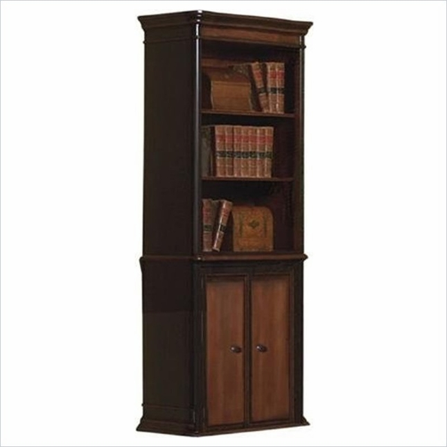 Executive Home Office Grand Style Bookcase with Cabinet Coaster 800513