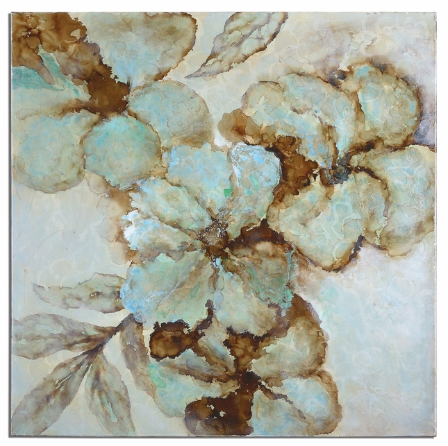 Fairy Blooms High Gloss Floral Canvas Art 34260