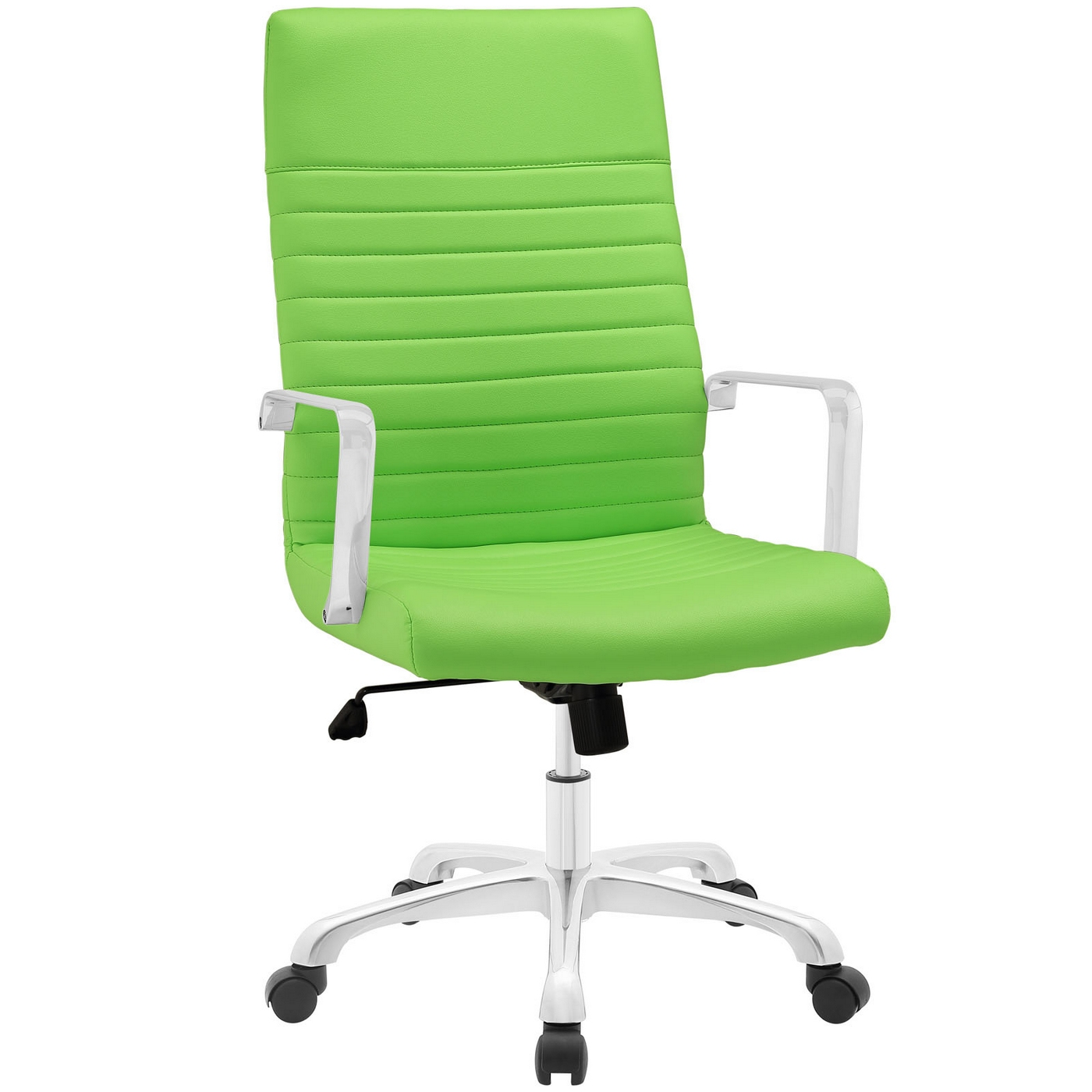 Finesse Modern Vinyl Upholstered High Back Office Chair ...