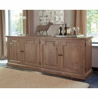 Florence Oversized Solid Mahogany Sideboard with Nested Drawers