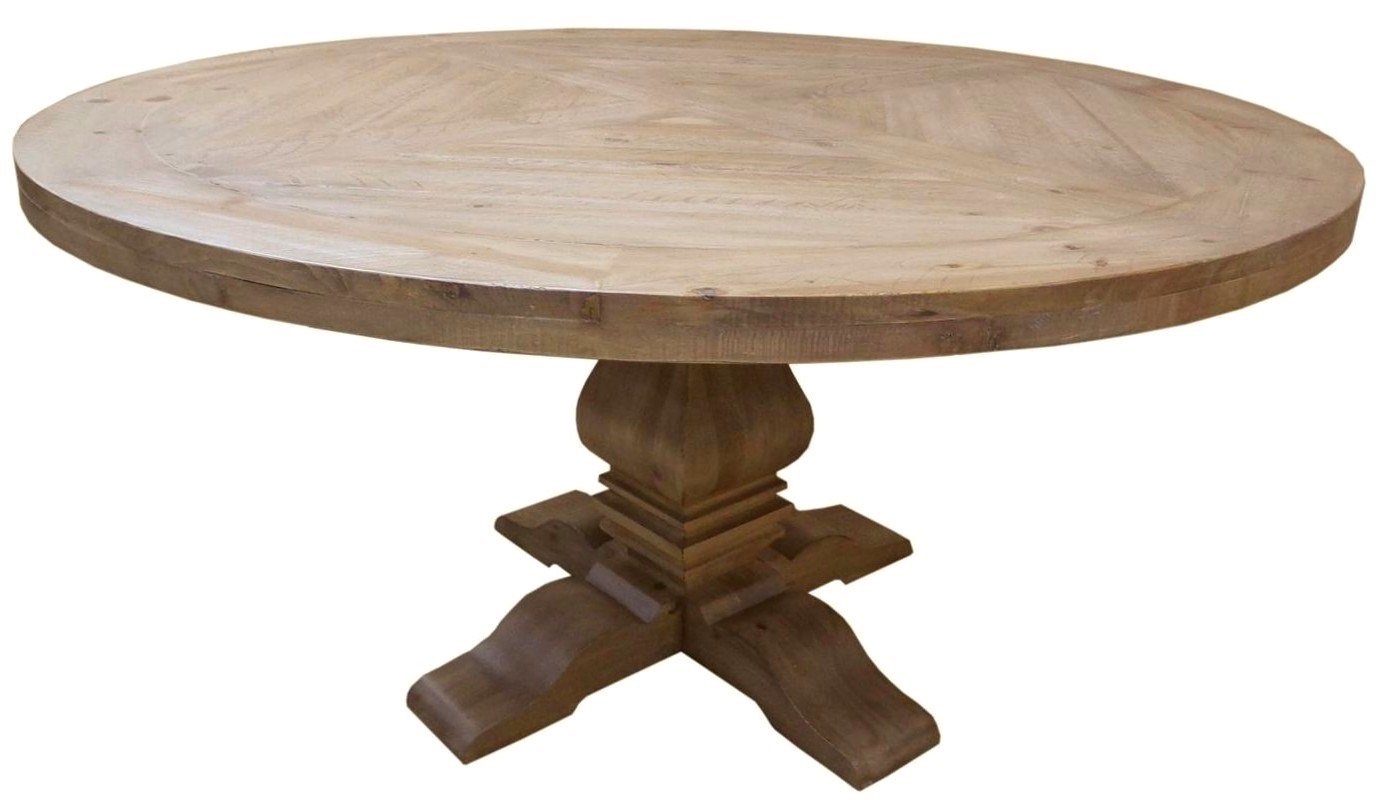 Mahogany round dining table florence dining table for Circle table