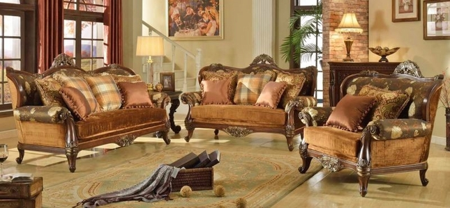 Genial Fontaine French Antique Style Formal Living Room Sofa Set