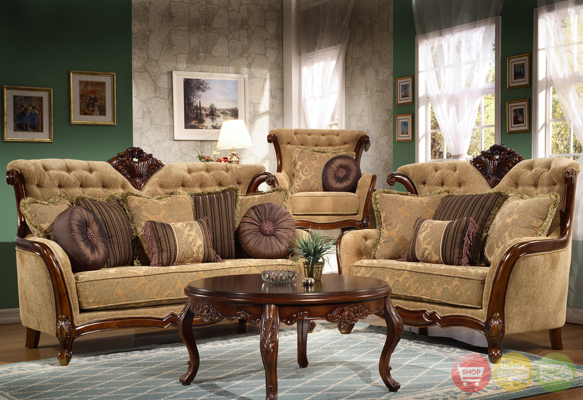Living room sets traditional for Living room furniture sets