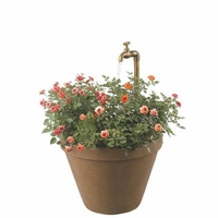Full Bloom Outdoor Water Fountain Terra Cotta Planter - 53220TC