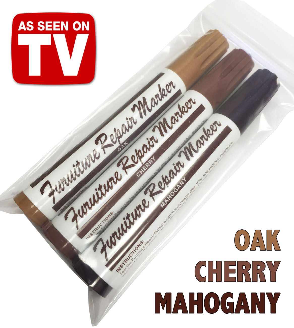 Furniture Repair Stain Touch Up Markers Restore Wood