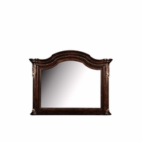Gables Dark Cherry Dresser Mirror With Crotch Okume Veneer