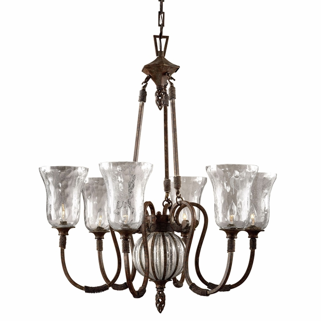 Galeana Traditional 6 Light Chandelier 21045