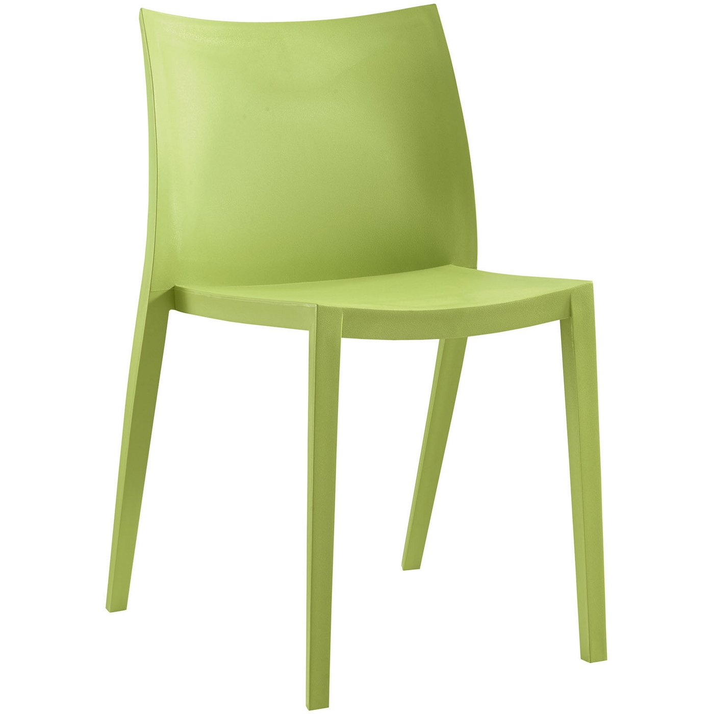 gallant contemporary plastic dining side chair green. Black Bedroom Furniture Sets. Home Design Ideas