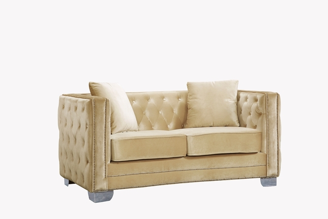 pinterest cottage velvet thunder pin style tufted loveseat