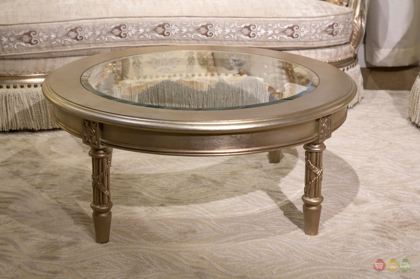 Traditional Glass Top Coffee Table Antebellum Rectangular Glass Top Cocktail Table Traditional