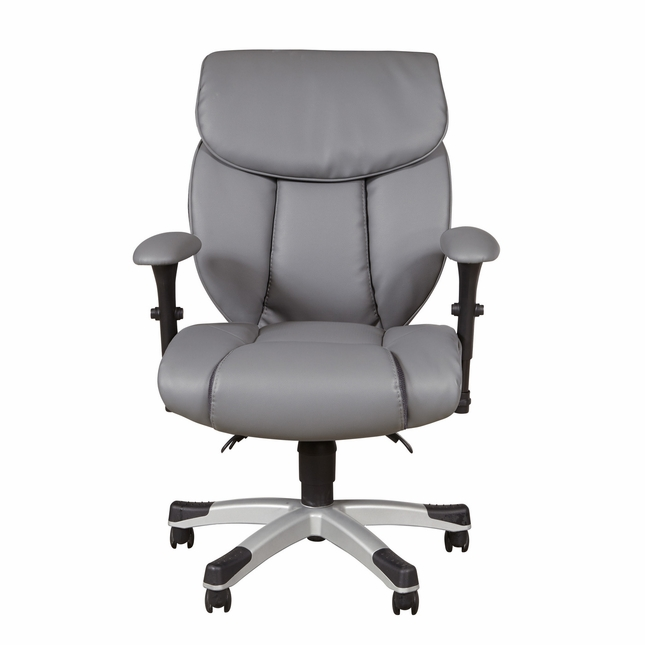 reputable site 647bc ce249 Glendale Sealy Posturepedic Memory Foam Office Chair in Grey ...