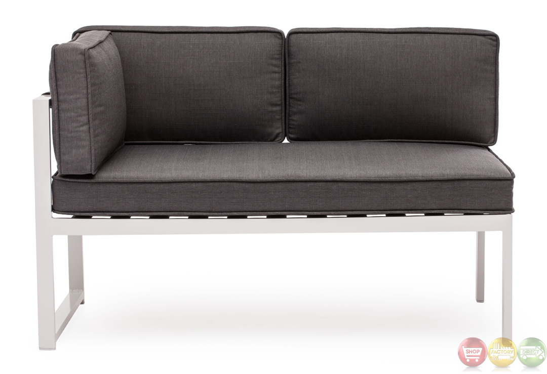 Golden beach gray chaise lsf zuo modern 703003 modern for Lsf home designs furniture
