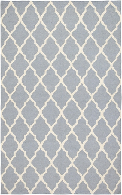 Rizzy Rugs Gray Lattice Hand Woven Dhurrie Area Rug Swing SG2098