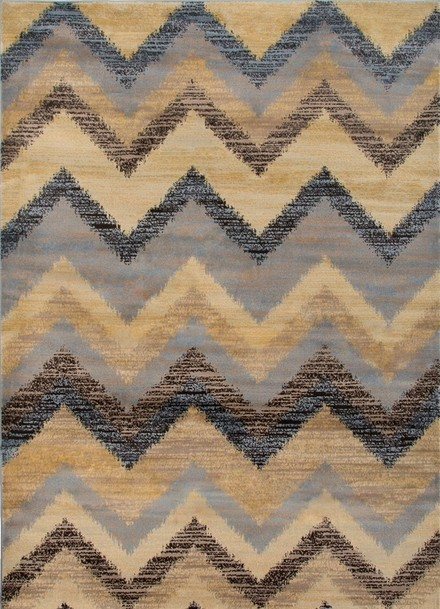 Rizzy Rugs Gray Transitional Power Loomed Area Rug Bayside BS3594