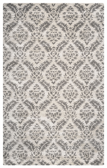 Rizzy Rugs Gray Transitional Hand Tufted Area Rug Volare VO2371
