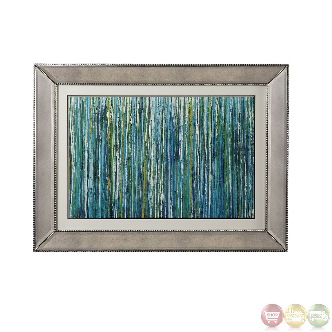 Greencicles abstract contemporary framed art 9900 134ec for Framed wall art