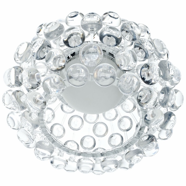 "Halo Contemporary Halo-inspired 12"" Acrylic Pendant Ceiling Light, Clear"