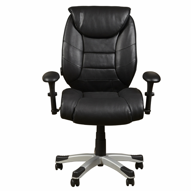 Hardwick Sealy Posturepedic Memory Foam Office Chair in Black Faux Leather  sc 1 st  Shop Factory Direct & Hardwick Sealy Posturepedic Memory Foam Office Chair in Black�Faux ...