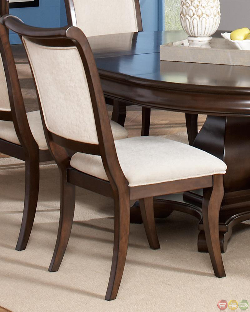 Cherry Dining Room Set: Harris Dark Cherry Finish Dining Room Furniture Set